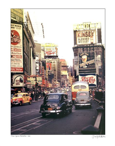 nyc color times square nyc color 1948 classic vintage