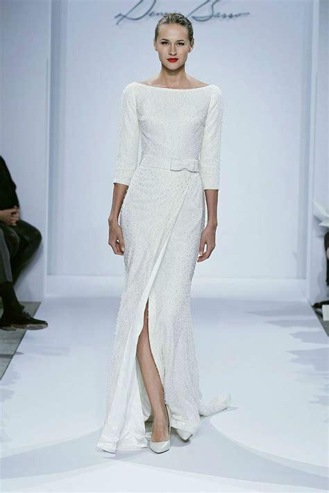 minimalist  elegant wedding dress ideas