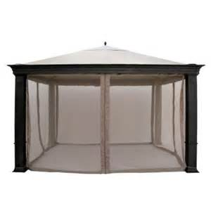 Sunjoy Industries Patio Heater by Outdoor Patio Tiverton Gazebo Replacement Canopy 379 99