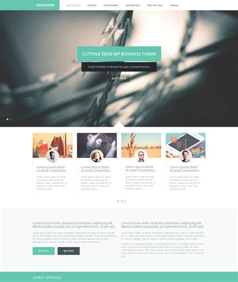 free html5 business templates infusion free html5 business template templates