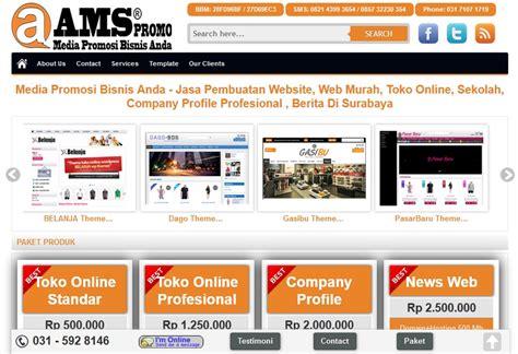 jasa pembuatan website pembuatan toko online jasa pembuatan web toko online ldii surabaya