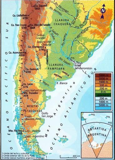 actividades relieves en argentina ort argentina