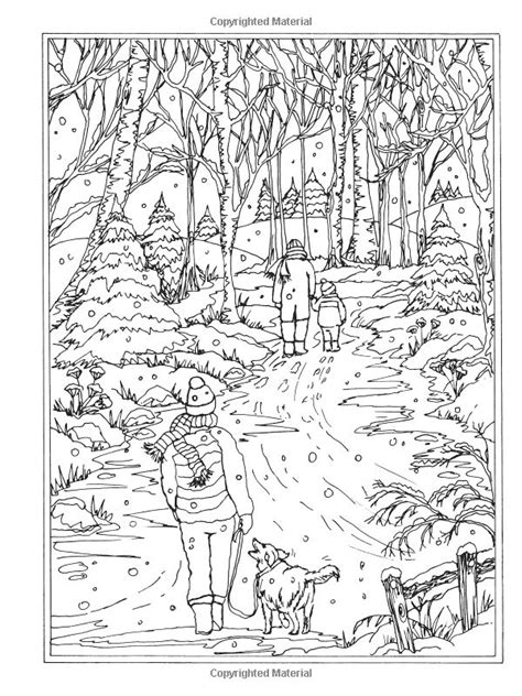 winter wonderland christmas coloring 3182 best m 229 larbok f 246 r vuxna och barn images on coloring books coloring and