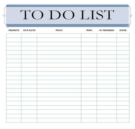 printable and editable to do list editable to do list template the best to do list app