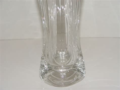 Mikasa Lead Vase by Beautiful Mikasa Lead 10 Inch Vase Flores Pattern