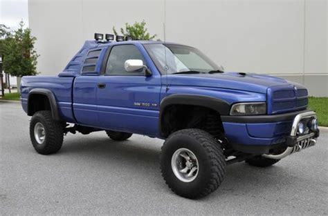 purchase used 2000 dodge ram 1500 lifted 4x4 off road leather look in fort worth texas buy used 1997 98 99 2000 dodge ram 1500 4x4 lifted monster truck hemi cummins diesel in pompano