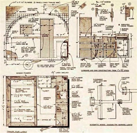 teardrop cer floor plans 28 images t b trailers best free teardrop trailer cer plans