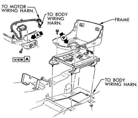 repair guides interior power seat adjusters autozonecom