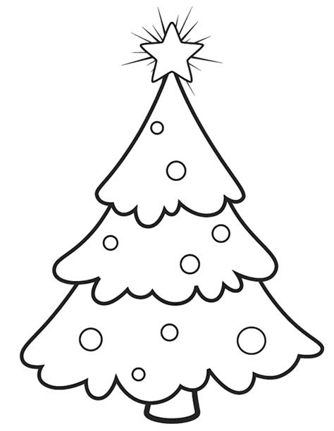 coloring pages christmas trees coloring