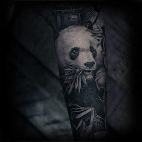 panda wolf tattoo 100 panda b 228 r tattoo designs f 252 r m 228 nner manly ink ideen