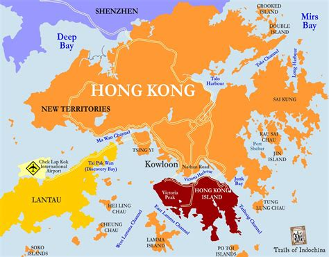hong kong hong kong and china map printable hong kong mtr map