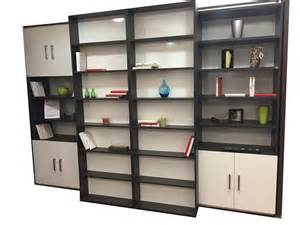 composition d armoire lit avec bibliothque coulissante sur