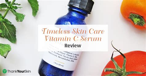 Timeless Skin Serum timeless skin vitamin c serum review