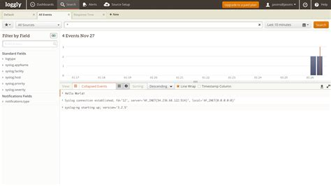 syslog ng template exle syslog ng configuration loggly