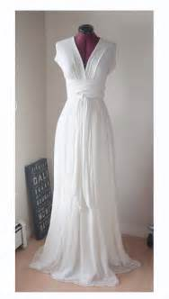 White Infinity Dress White Convertible Infinity Dress With Silk Chiffon Skirt