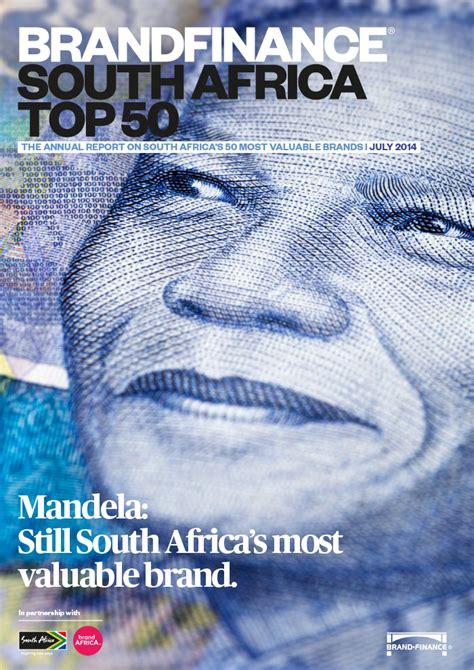 brand finance brand finance south africa top 50 2014