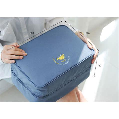 Hs Tas Travel Bag In Bag Organizer Pakaian Polyester tas travel bag in bag organizer pakaian polyester
