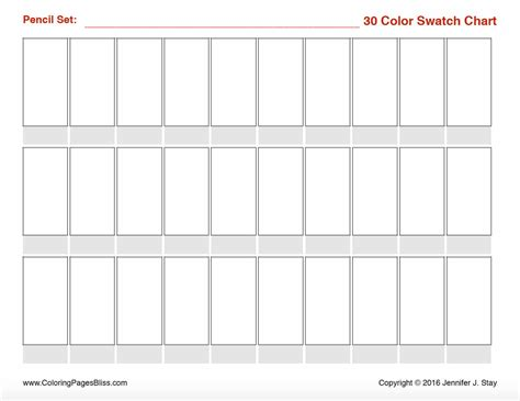 Coloring Pages Bliss Color Chart | prismacolor premier colored pencil swatch charts