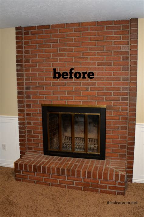fireplace without mantle diy fireplace mantel the idea room