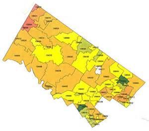 Radon map bucks county radon northampton county radon lehigh county