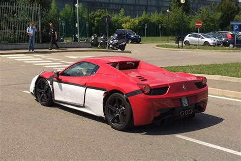 Ferrari 458 Speciale Spider by Ferrari 458 Speciale Spider Spotted For The First Time