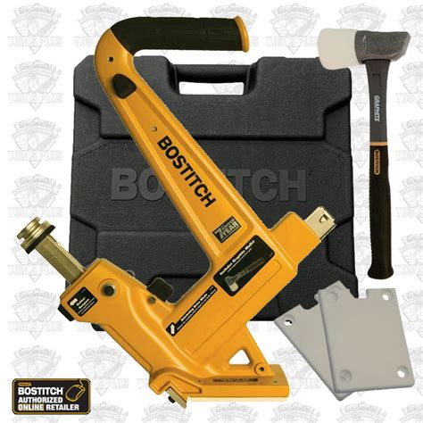 Hardwood Flooring Nailer by Bostitch Mfn201 Manual Hardwood Flooring Cleat Nailer Kit