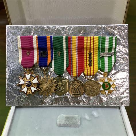 Dompet New Mini Ribbon medal mounting new mini build col ret usmc