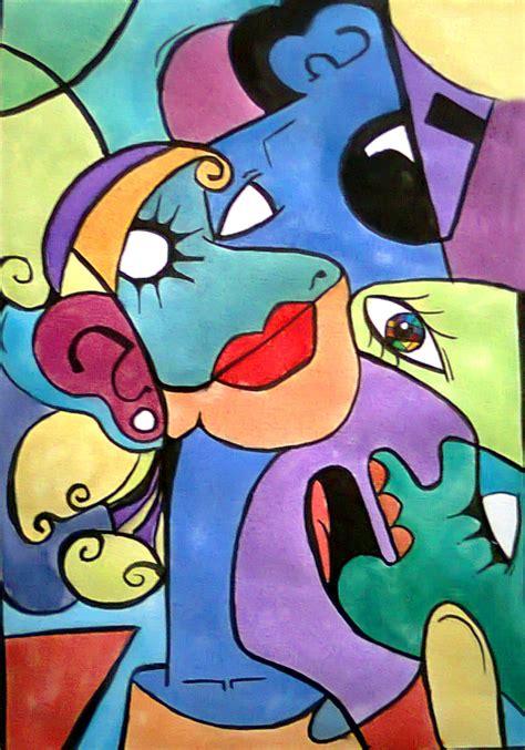 cubismo cuadros 4 caras en un cuadro cubista carolina g martin
