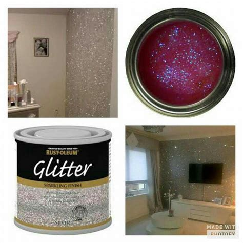 glitter home decor glitter on the walls how cool is that home decor