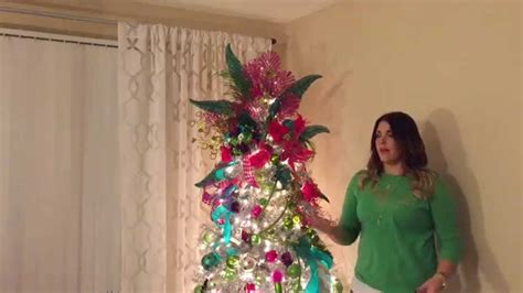 how to make a christmas tree wtih rubber gloves how to make a fabulous tree topper