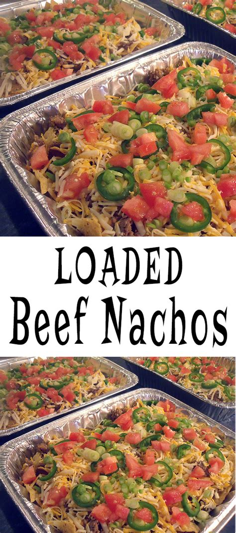 best 25 cooking for a crowd ideas on pinterest recipes game day loaded nachos recipe glitter n spice