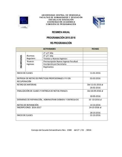 vencimientos declaracion anual 2015 cronograma anual 2015 2016 cronograma de anual 2015