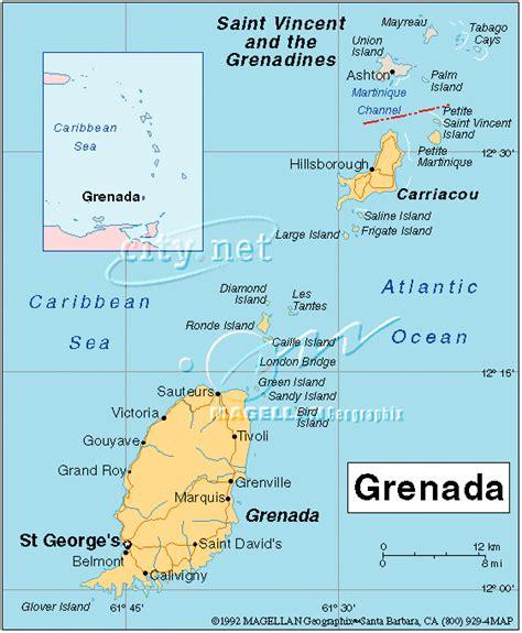 map of grenada island island treasure grenada maps