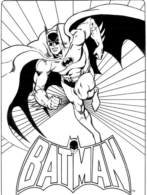 vintage batman coloring pages batman coloring pages free coloring home