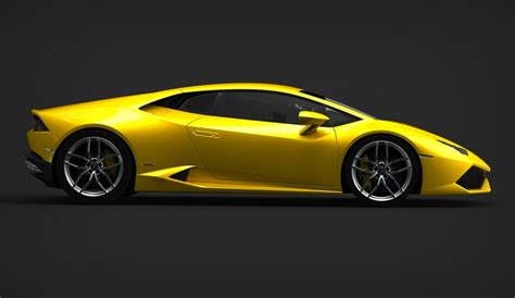 The New Lamborghini Huracán Lamborghini Huracan Side