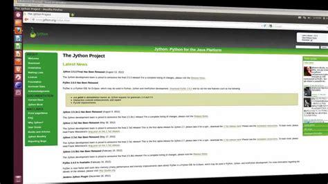 ubuntu 12 04 java plugin install jython and pydev python eclipse plugin into ubuntu