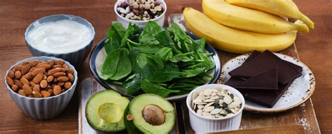 in quale alimento si trova il magnesio in quali cibi si trova il magnesio e perch 233 fa bene