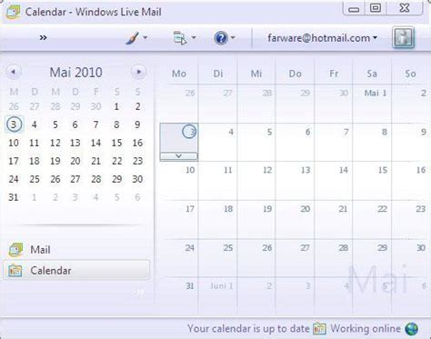 Windows Live Calendar Pin Win7 Live Mail Drafts Add Print Option Draftpjpg On