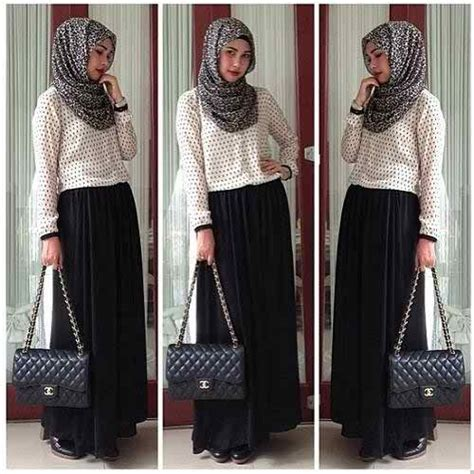 Maxi Alesha Putih styles with dresses 2016 17 hijabiworld