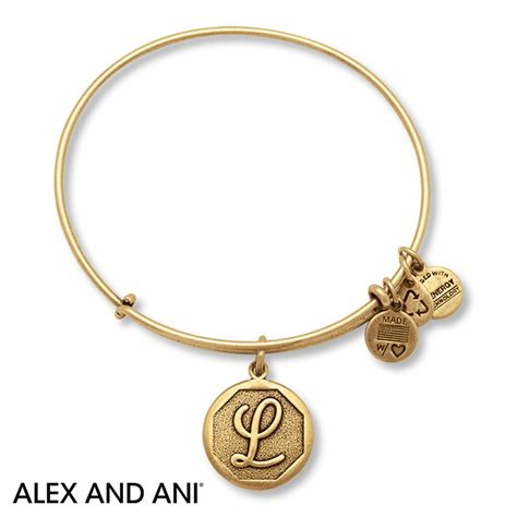 alex and ani bracelet jared alex and ani bracelet initial l