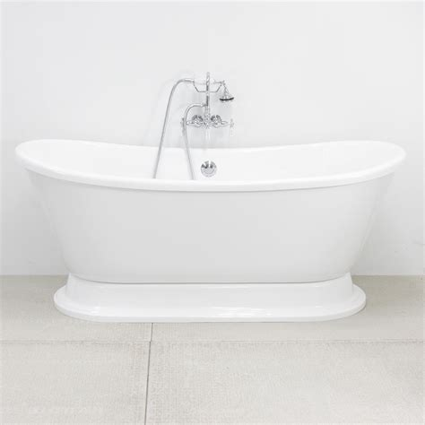 Pedestal Tub Hlbtpd67fpk 67 Quot Hotel Collection Bateau Pedestal