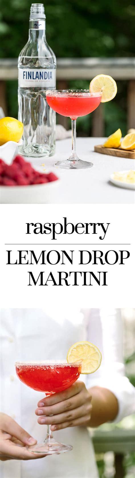 raspberry lemon drop best raspberry lemon drop martini