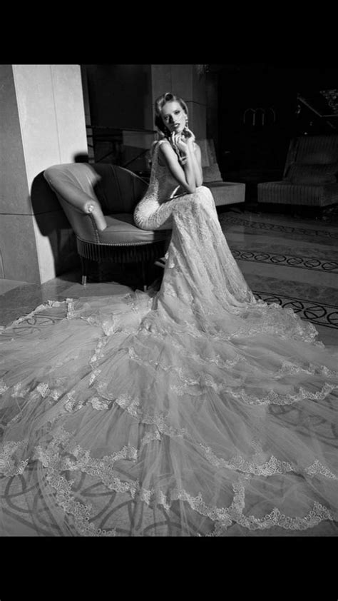 Galia Lahav Off White Lace and Crystal Overlay Madison Modern Wedding Dress Size 2 (XS) - Tradesy