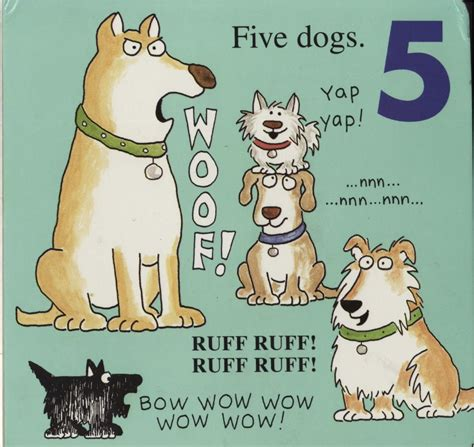 Doggies A Counting And Barking Book By Boyntonbuku Import onomatopoeia children s books