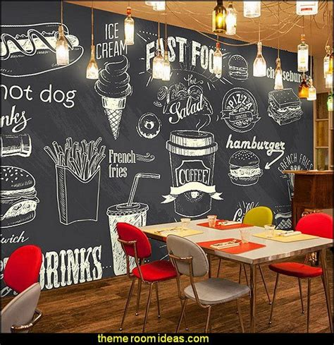 kitchen wall mural ideas blackboard wallpaper murals food wallpaper murals bistro