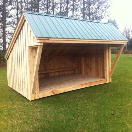 open shed plans 10x14 cing shelter now offered by jamaica cottage shop