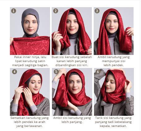 tutorial hijab casual anak muda cara pakai hijab untuk anak muda kekinian 1000 jilbab