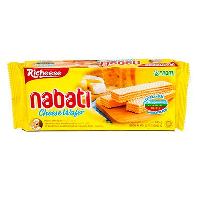 Richeese Wafer Keju 145gr richeese nabati wafer 145 gr citra utama sembako