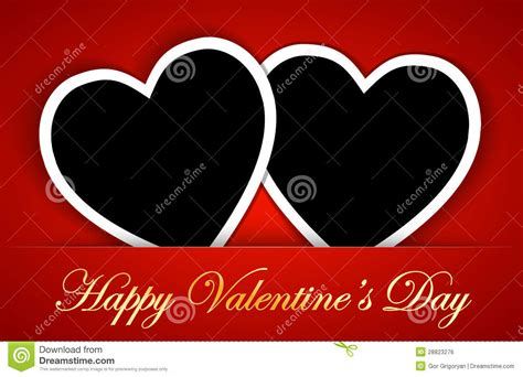 blank valentines card template valentines card template with blank photo frames on the