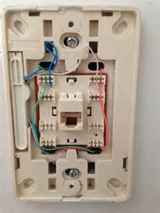 phone socket wiring
